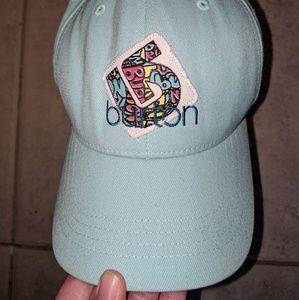 Light blue Burton cap